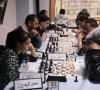 مشاركة لاعبات نادي قطنة في بطولة الحرم الابراهيمي الشريف