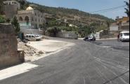 إعادة تأهيل الطرق الداخلية وإنشاء خط تصريف مياه ال ...